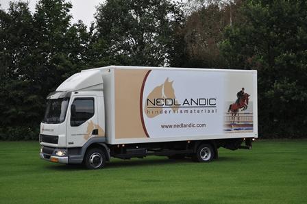 Nedlandic vrachtwagen leverancier grastegels
